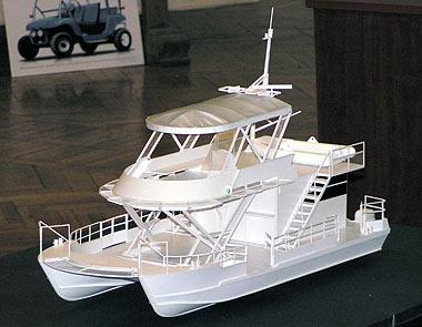 Дипломный проект судна для отдыха и рыбалки
