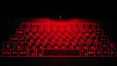 первая серийная виртуальная клавиатура от iTech